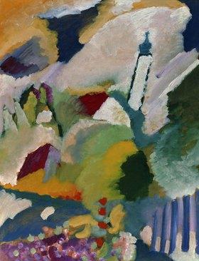 Wassily Kandinsky: Kirche in Murnau