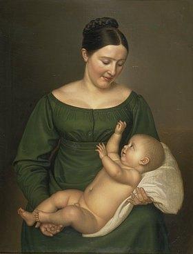 Carl Sieg: Mutter mit Kind