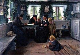 Alexander Koester: Alte und junge Bäuerinnen im Herrgottswinkel