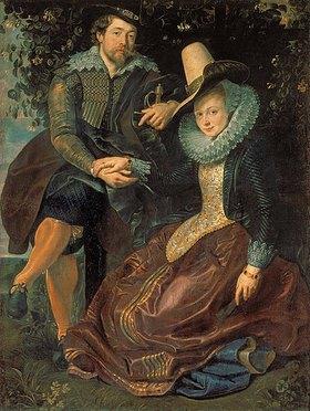 Peter Paul Rubens: Rubens und Isabella Brant in der Geißblattlaube