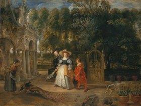Peter Paul Rubens: Rubens und seine zweite Frau im Garten