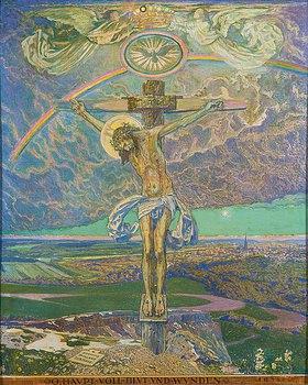 Sigmund Walter Hampel: Christus am Kreuz