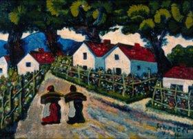 Hugo Scheiber: Dorfstrasse