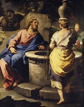 Luca (Fa Presto) Giordano: Christus und die Samariterin am Brunnen