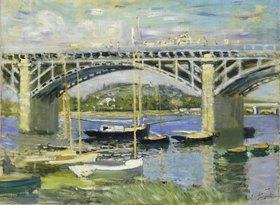 Claude Monet: Seinebrücke in Argenteuil