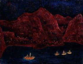 Paul Klee: Südliche Küste abends. 1925 T