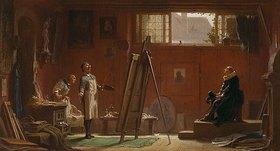 Carl Spitzweg: Der Portraitmaler