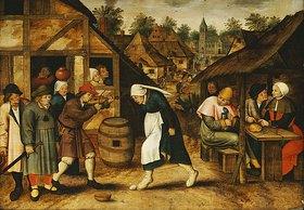 Pieter III Brueghel: Der Eiertanz