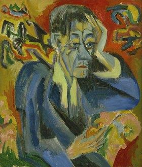Ernst Ludwig Kirchner: Bildnis des Dichters Leonhard Frank