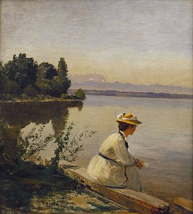 Anders Andersen-Lundby: Am Starnberger See bei Leoni