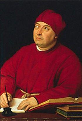 Raffael (Raffaello Sanzio): Bildnis des Tommaso Fedra Inghirami