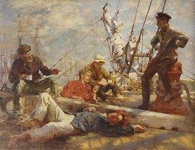 Henry Scott Tuke: Mittagsrast auf dem Segler