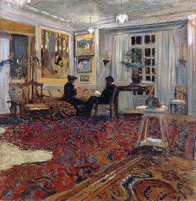 Edouard Vuillard: Plauderei im Salon (Monsieur und Madame Arthur Fontaine)