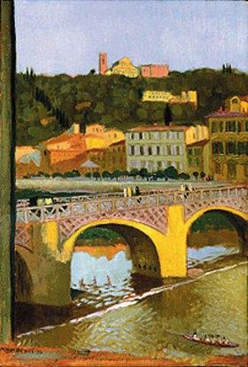 Maurice Denis: Florenz, Ponte alle Grazie