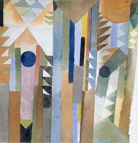 Paul Klee: Der Wald, der aus dem Samenkorn entstand