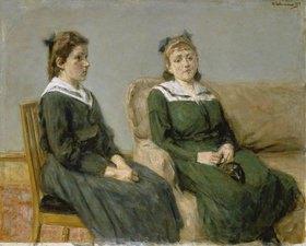 Max Liebermann: Die beiden Schwestern Leder