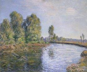 Alfred Sisley: Am Ufer des Flusses Loing