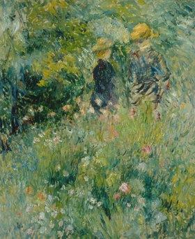 Auguste Renoir: Begegnung im Rosengarten