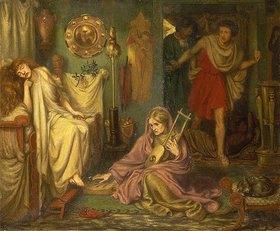 Dante Gabriel Rossetti: Die Rückkehr von Tibullus zu Delila