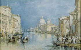 Joseph Mallord William Turner: Venedig, Canale Grande