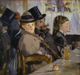 Edouard Manet: Im Cafe