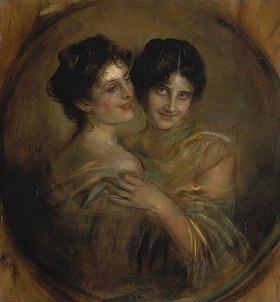 Franz von Lenbach: Zwei Schwestern