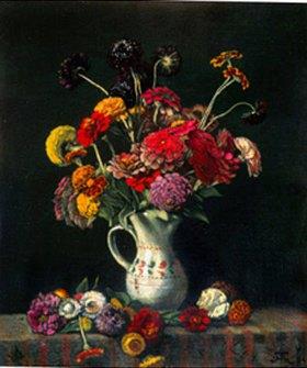 Hans Thoma: Blumenstrauss