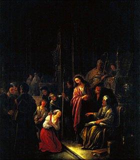 Gerrit Wet: Christus und die Sünderin