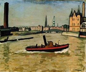 Albert Marquet: Im Hafen von Hamburg