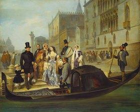 Giulio Carlini: Die Familie Tolstoi in Venedig
