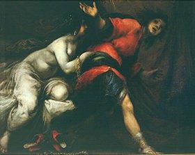 Francesco (Cecco Bravo) Montelatici: Joseph und das Weib des Potiphar