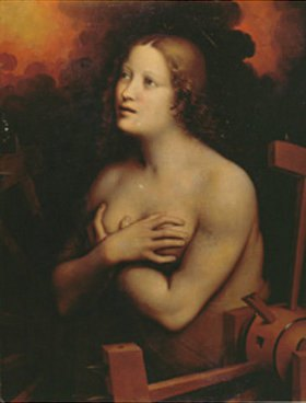 Giampietrino (G. Pedrini): Die hl. Katharina
