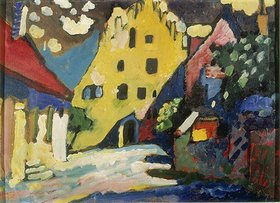 Wassily Kandinsky: Murnau - Schlosshof I