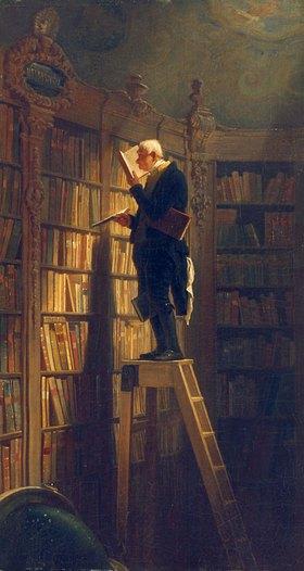 Carl Spitzweg: Der Bücherwurm