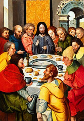 Niederrheinisch/Westfälisch: Das letzte Abendmahl