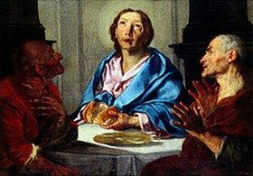 Werner J.van Valckert: Christus in Emmaus