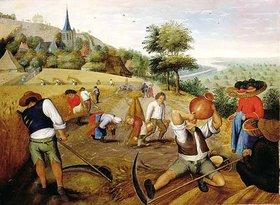 Pieter Brueghel d.J.: Der Sommer
