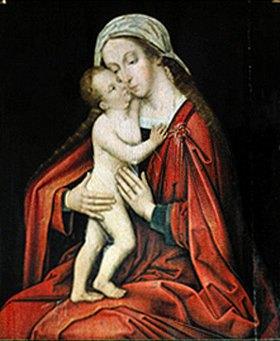 Hans Holbein d.Ä.: Madonna mit Kind