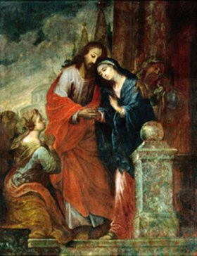 Anonym: Abschied Jesu von seiner Mutter