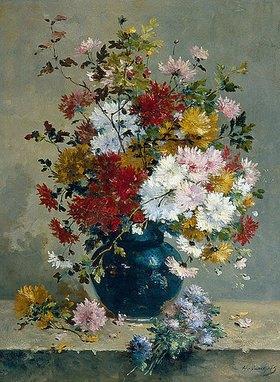 Eugene Henri Cauchois: Blumenbouquet