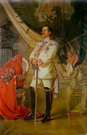 Vittorio Matteo Corcos: Kaiser Wilhelm II. (Kopie von M. Cerrini)