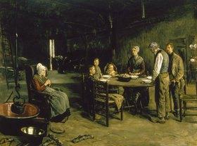 Max Liebermann: Das Tischgebet
