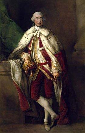 Thomas Gainsborough: Bildnis James,8.Earl of Abercorn, in der Robe eines schottischen Peer