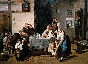 S Hesse: Mahlzeit in einer Tiroler Bauernstube