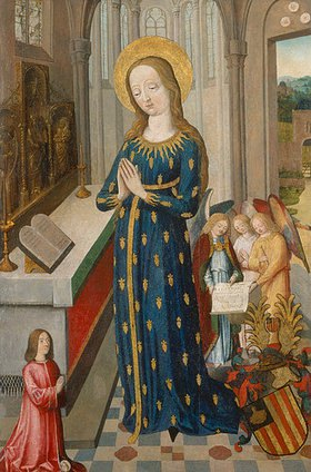 Anonym: Maria im Ährenkleid