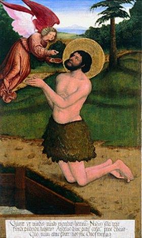Bernhard Strigel: Der Heilige Onuphrius