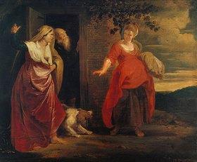 Peter Paul Rubens: Die Verstossung der Hagar aus dem Hause Abrahams