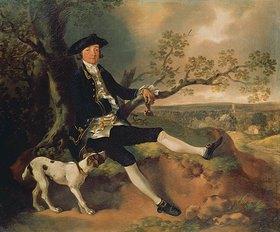 Thomas Gainsborough: John Pamplin, Bildnis, wahrscheinlich