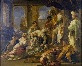 Luca (Fa Presto) Giordano: Esther vor Ahasver