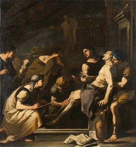 Luca (Fa Presto) Giordano: Der Tod des Sene